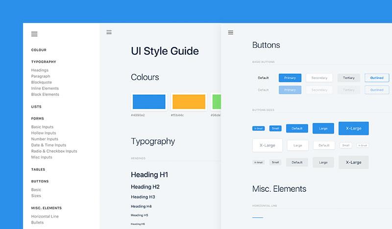 Набор UI элементов
