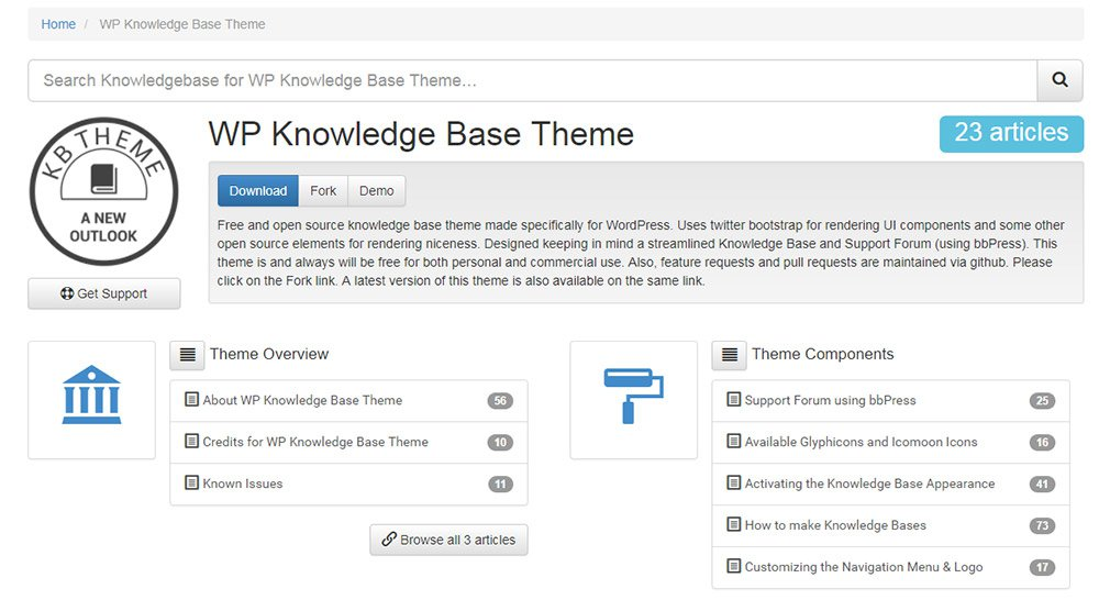 WP Knowledge Base