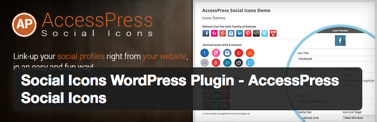 AccessPress Social Icons Plugin