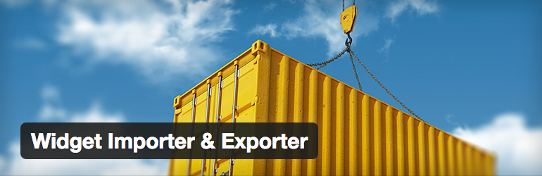 Widget Importer/Exporter