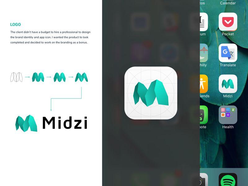 Иконка iOS приложения Midzi