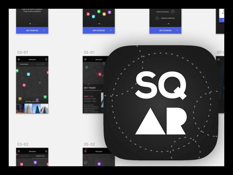 Иконка iOS приложения sqAR