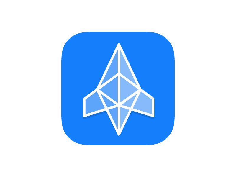 Иконка для iOS приложения Cryptonaut