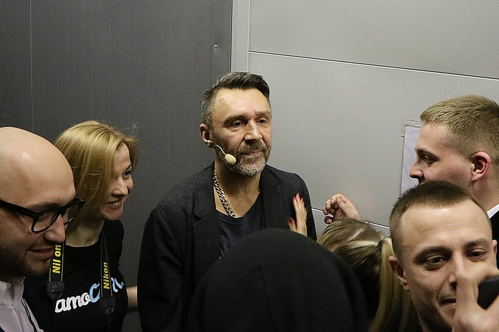 Сергей Шнуров на #амоконф